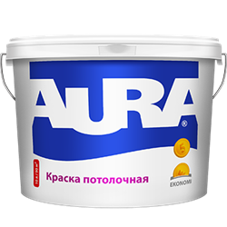 Краска для потолков AURA Ekonomy (10л) - фото 5300