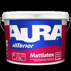 Краска AURA Mattlatex (9л) - фото 5639